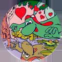 Yazoo Yammies > B. Jungle 25-Dino-in-love-with-his-reflection.