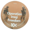 AAFES > 2004 > 10¢ 10-Operation-Iraqi-Freedom.