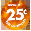 AAFES > 2006A > 25¢ Back.