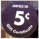 AAFES > 2006B > 5¢ Back.