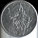 American Games Caps > Heavy Metal Aluminum Slammers Gargoyle-close-up.