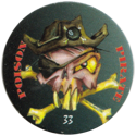 American Games Caps > Numbered 33-Poison-Pirate.