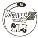 Caps > Dragonball Z back.