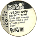 Caps > Space Monsters 51-Lysomorph-back.