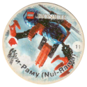 Cheetos > Lego Bionicle > Green back 11-Нуи-Раму-(Nui-Ramu).