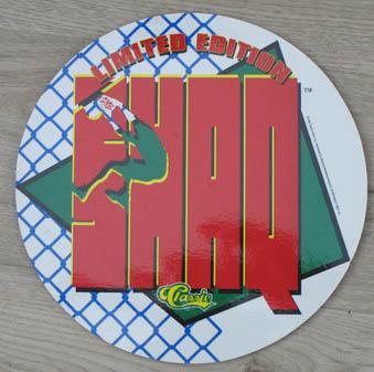 Limited Edition Classic Shaq playmat