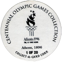 Collect-A-Card > Centennial Olympic Games Collection Back.