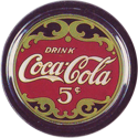 Collect-A-Card > Coca-Cola Collection > Series 1 01-Drink-Coca-Cola-5¢.