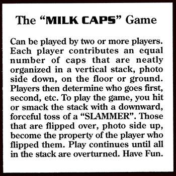 Collect-A-Card > Fun Caps > Olympic Games Atlanta 1996 Insert Card InsertCard-Back.