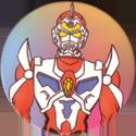 Collect-A-Card > Fun Caps > Superhuman Samurai Syber Squad 35-Servo.