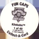 Collect-A-Card > Fun Caps > Superhuman Samurai Syber Squad Back.