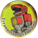 Collect-A-Card > Power Caps > Power Rangers Series 1 43-Tyrannosaurus-Dinozord.