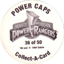 Collect-A-Card > Power Caps > Power Rangers Series 1 Back-(Dark-print-numbered).