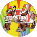 Collect-A-Card > Power Caps > Power Rangers Series 2 03-White-Tigerzord.