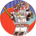 Collect-A-Card > Power Caps > Power Rangers Series 2 06-White-Tigerzord-Thunderzord.