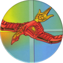 Collect-A-Card > Power Caps > Power Rangers Series 2 07-Firebird-Thunderzord.