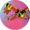 Collect-A-Card > Power Caps > Power Rangers Series 2 09-Red-Dragon-Thunderzord.