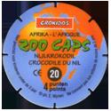Croky > Crokido's Zoo Caps 20_Back.