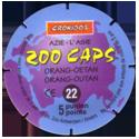 Croky > Crokido's Zoo Caps 22_Back.