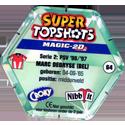Croky > Super Topshots > Serie 2 64-PSV-Marc-Debryse-(back).