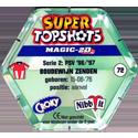 Croky > Super Topshots > Serie 2 72-PSV-Boudewijn-Zenden-(back).