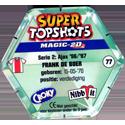Croky > Super Topshots > Serie 2 77-Ajax-Frank-De-Boer-(back).