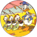 Disney > Blank back Donald-Duck-with-Huey,-Dewey-and-Louie-after-fishing-trip.