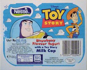 Disney > Toy Story Yoghurt-lid.