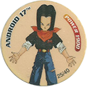 Dragonball Z Dizk > Series 1 25-Android-17.