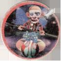 Dunkin Caps > (Blue back) 05-Clown-balancing-on-ball.