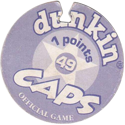 Dunkin Caps > (Blue back) Back-(purple)-1-points.