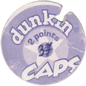 Dunkin Caps > (Blue back) Back-(purple)-2-points.