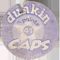 Dunkin Caps > (Blue back) Back-(purple)-5-points.
