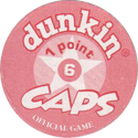 Dunkin Caps > (Red back) Back-(red)-1-point.