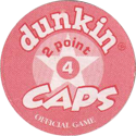 Dunkin Caps > (Red back) Back-(red)-2-point.