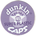 Dunkin Caps > Super Plastic Back-no-slot.