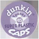 Dunkin Caps > Super Plastic Back-no-slot.