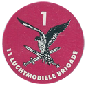 Dutch Military > 11 Luchtmobiele Brigade Back.