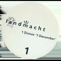 """Dutch Military > Landmacht 1 Divisie """"7 December"""" Back."""
