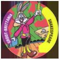 Flippos > 141-240 World Flippo 172-Bugs-Bunny-Groot-Brittania-Shakespeare.