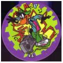 Flippos > 141-240 World Flippo 191-Daffy-Duck-V.S.-Rap.