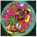 Flippos > 141-240 World Flippo 195-Daffy-Duck-Jamaica-Reggae.