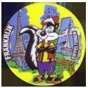Flippos > 141-240 World Flippo 205-Pepe-Le-Pew-Frankrijk-Eiffeltoren.