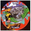 Flippos > 141-240 World Flippo 206-Daffy-Duck-India-Taj-Mahal.