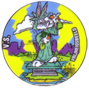 Flippos > 141-240 World Flippo 207-Bugs-Bunny-V.S.-Vrijheidsbeeld.