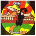 Flippos > 141-240 World Flippo 217-Daffy-Duck-China-Verboden-Stad.
