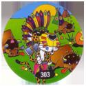 Flippos > 291-315 Cheetos 24 Game Flippo 303-American-Indian-Buffalo-Killer.