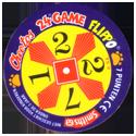 Flippos > 291-315 Cheetos 24 Game Flippo Back.