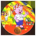 Flippos > 431-490 Olympic Flippo 436-Porky-Pig.