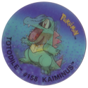 Flippos > Pokemon > 01-25 08-Totodile-#158-Kaiminus.